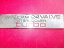 TWIN CAM 24 VALVE INTERCOOLER TURBO GENUINE DECAL
