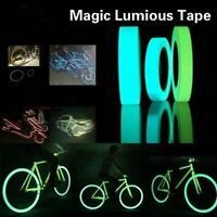 New Glow In The Dark Sticky Tape Self Adhesive Luminous Tape Safety Film Sticker