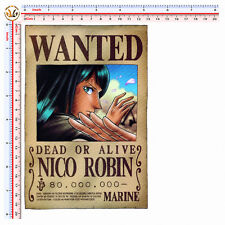 one piece adesivo sticker print pvc NICO ROBIN wanted auto moto tuning 1 pz.