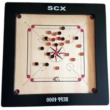 TOURNAMENT CARROM BOARD GAME FULL SIZE WITH FREE WOOD COINS & STRICKER