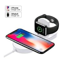 Smart Watch, Smart Phone Wireless Charger Replacement, Ultra-Thin 2 in 1