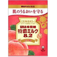 UHA, Hard Candy, Peach, Tokunou Milk, 84g, Japanese Candy
