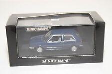 . MINICHAMPS VW VOLKSWAGEN GOLF GL II 1985 BLUE MINT BOXED