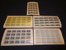 Lot #6 - Six Unbroken MNH Stamp Sheets - RYUKYUS