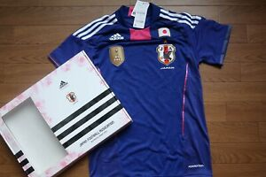 Nadeshiko Japan 100% Authentic Soccer Jersey 2011 BNWT L Player Issue Limited