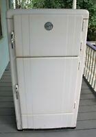 Vintage Eskimo Icebox / 3 door / Works