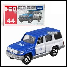 TOMICA 44 Toyota Land Cruiser JAF Road Service Car 1/71 TOMY DIECAST 2018 JAN