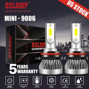 MINI 9006 HB4 LED Headlight 6500K White Fog Lights For Toyota Corolla 2001-2013