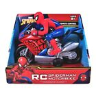 Marvel Spider-Man Motorbike Remote Control 27MHZ New Batteries Not Included