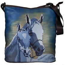 Horse Large Cross Body Bag  by Salvador Kitti - Support Wildlife Conservation