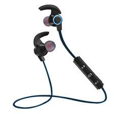 Wireless Sport Bluetooth Kopfhörer In Ear Stereo Headset Ohrhörer mit Mic Blau