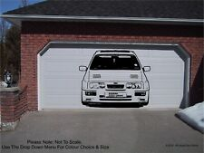SIERRA RS 500 COSWORTH - Front View - WALL ART STICKER