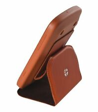 TREXTA SOFT SHELL WITH LEATHER FLAP DESKSTAND CASE