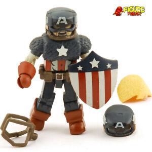 Marvel Minimates Captain America through the Ages World War II Captain America