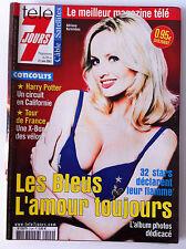 Télé 7 Jours  15/06/2002; 32 Stars en bleus déclarent leur flamme; Album dédicac
