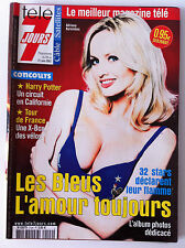 Télé 7 Días 15/06/2002; 32 Stars informe azul su flamme; álbum dedicac
