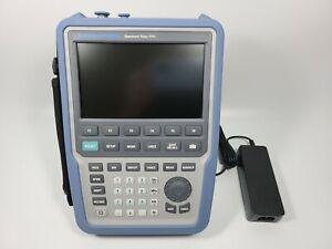 Rohde & Schwarz Spectrum Rider FPH Handheld Spectrum Analyzer, 5kHz - 4GHz
