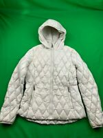 MICHAEL KORS PACKABLE DOWN INSULATED HOODED PUFFER JACKET SIZE SMALL EUC