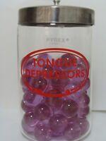 4 Marbles Vintage Transparent Jewel/Gem HTF 1IN Shooters Purple/Lavender Nice