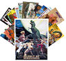 Postcards Pack [24 cards] Dinosaur Prehistoric Vintage Trash Movie Poster CC1074