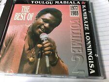 YOULOU MABIALA & KAMIKAZE LONNINGISA 1977-85 Vol.2 CD(1994 Sonodisc)