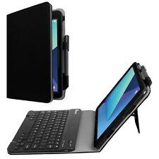Fintie Samsung Galaxy Tab S3 9.7 Teclado funda, ajuste ceñido de cuero PU de folio