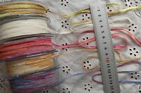 Multi Coloured 4mm Wide - 3, 5 &10 Metres 5 Colours or Combo Choice ALD8