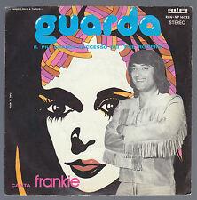 FRANKIE DISCO 45 GIRI GUARDA B/W DAMMI UN BACIO QUI - THE ROGERS - RIFI