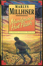 Murder in a Hot Flash: A Charlie Greene Mystery by Marlys Millhiser-1st Ed.-1995