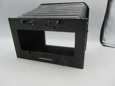 Vintage Large Format Camera Horseman Binocular Loupe Bellows Attachment