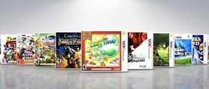 Replacement Nintendo 3DS Titles P-Z Covers and Cases. NO GAMES!