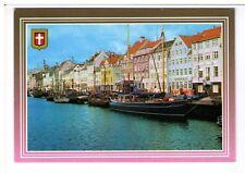 Postcard: Nyvan, Copenhagen, Denmark