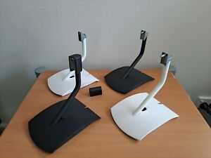 """Bose UTS-20 Universal Table Stand x2 in WHITE """"Genuine Made by Bose"""""""