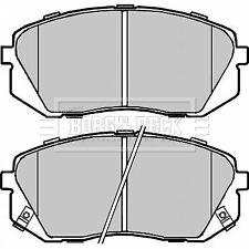 Fits Kia Sportage MK3 1.7 CRDi Genuine Borg /& Beck Rear Brake Pads Set