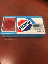 Vintage Pepsi Junior Collection HANDHELD Tape Recorder 3 AA BATTERIES NEEDED