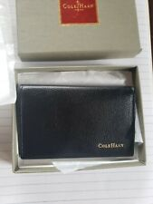 Cole Haan Business Card Case Leather in Original box holder wallet bi-fold
