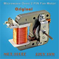 Calidad de original Horno microondas 2PIN Motor de ventilador MDT-10CEF 220V 18W
