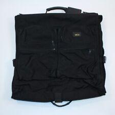 TUMI Black Nylon Classic Full Size Garment Travel Bag Suitcase Bi-Fold