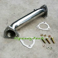 Stainless Exhaust Decat Front Pipe Downpipe FOR Audi A4 B5 B6 VW Passat 3B 1.8T