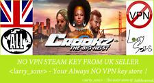 Crookz - The Big Heist Steam key NO VPN Region Free UK Seller