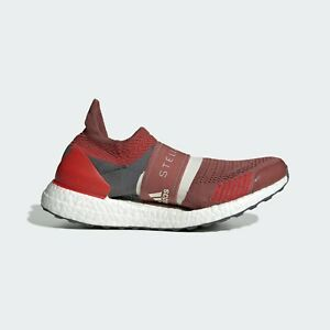 adidas by Stella McCartney UltraBOOST X 3D Sizes 5, 6.5 Red RRP £200 Brand New