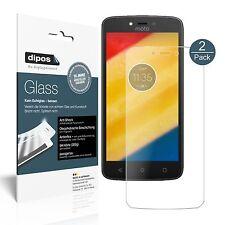 2x Lenovo Moto C Plus Screen Protector matte Flexible Glass 9H dipos