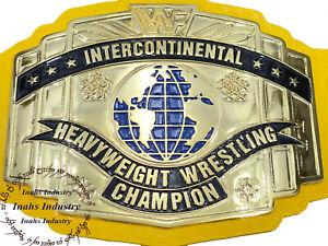 WWF Replica Intercontinental Heavyweight Wrestling Championship Belt