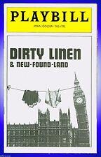 Playbill + Dirty Linen & New-Found-Land + Francis Bethencourt , Humphrey Davis