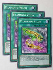 Set 3X   FILAMENTO VYLON  GENF-IT057 Comune in Italiano YUGIOH