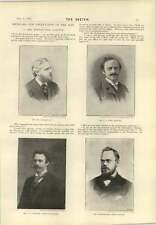 1893 The Westminster Gazette Spender Cook Hill Newnes Chamberlain Morley Duel