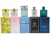 Versace Miniature Collection unisex gift set 5 pcs 0.17 oz New in Box