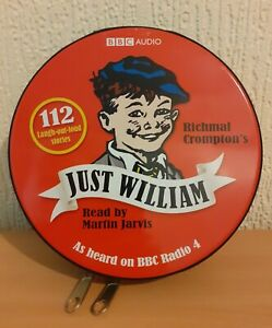 JUST WILLIAM BBC CD Audiobook Set Complete 112 Stories 28 CDs Richmal Crompton
