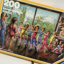 VTG Ravensburger Puzzle Martine 1984 #12 104 5 Gymnastics Dance Class 200 Pc