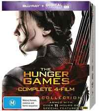 The Hunger Games COMPLETE Collection (8 Disc Set) : NEW Blu-Ray